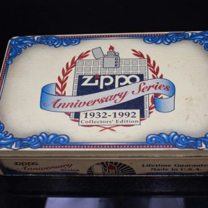 ZIPPO SET – 60TH ANNIVERSARY SERIES – 1992 COLECTORS EDITION 1