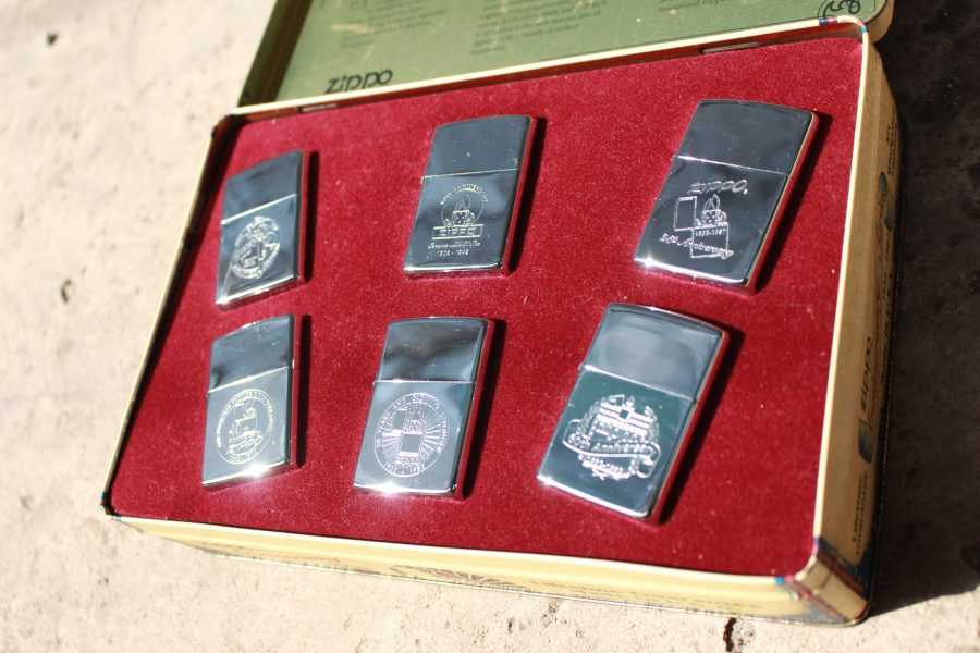 ZIPPO SET – 60TH ANNIVERSARY SERIES – 1992 COLECTORS EDITION 10