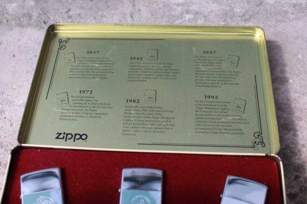 ZIPPO SET – 60TH ANNIVERSARY SERIES – 1992 COLECTORS EDITION 11