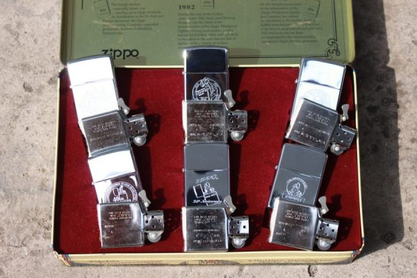 ZIPPO SET – 60TH ANNIVERSARY SERIES – 1992 COLECTORS EDITION 2