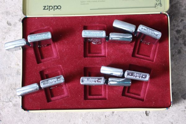 ZIPPO SET – 60TH ANNIVERSARY SERIES – 1992 COLECTORS EDITION 3