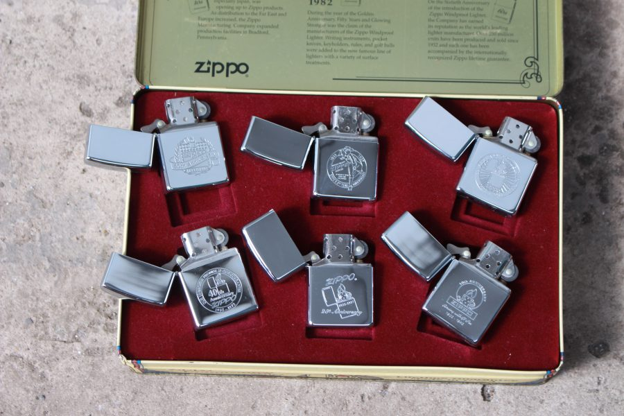 ZIPPO SET – 60TH ANNIVERSARY SERIES – 1992 COLECTORS EDITION 4
