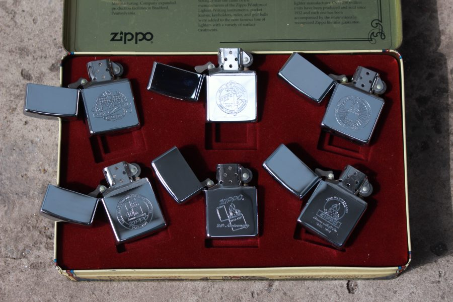 ZIPPO SET – 60TH ANNIVERSARY SERIES – 1992 COLECTORS EDITION 5