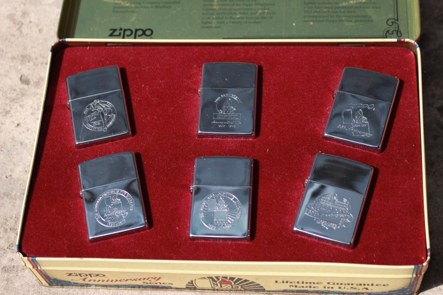 ZIPPO SET – 60TH ANNIVERSARY SERIES – 1992 COLECTORS EDITION 6