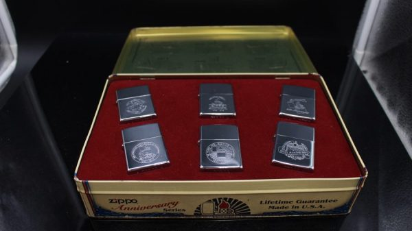 ZIPPO SET – 60TH ANNIVERSARY SERIES – 1992 COLECTORS EDITION