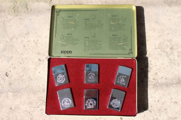 ZIPPO SET – 60TH ANNIVERSARY SERIES – 1992 COLECTORS EDITION 7