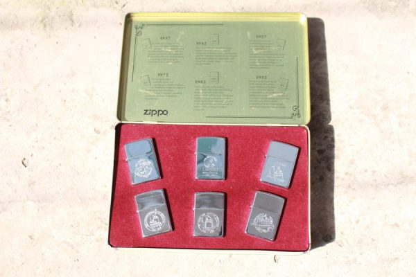 ZIPPO SET – 60TH ANNIVERSARY SERIES – 1992 COLECTORS EDITION 8