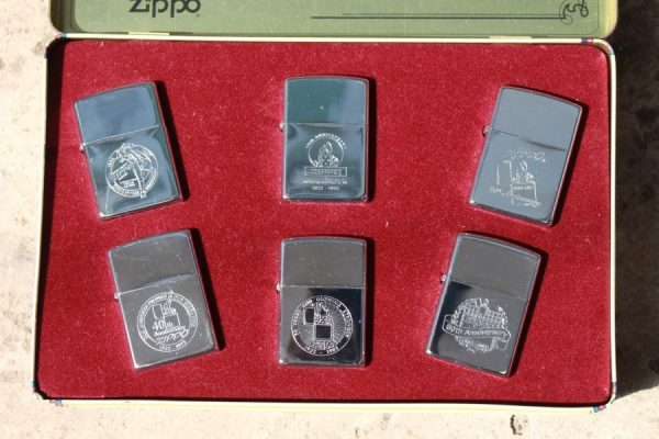 ZIPPO SET – 60TH ANNIVERSARY SERIES – 1992 COLECTORS EDITION 9