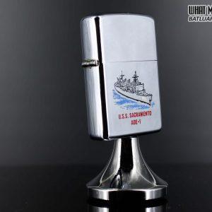 ZIPPO TABLE – ZIPPO 1981 – USS SACRAMENTO AOE 1