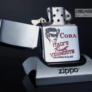 ZIPPO XƯA 1956 – CORA ITALY'S FINEST VERMOUTH 1