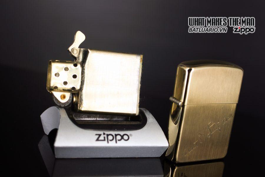 ZIPPO XƯA 1960S – BỌC VÀNG 10K – 10K GOLD FILLED 1