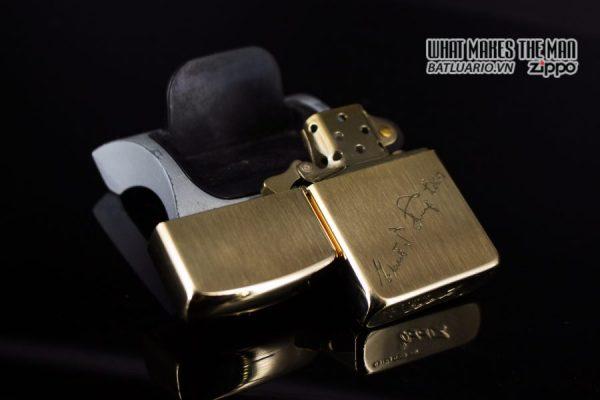 ZIPPO XƯA 1960S – BỌC VÀNG 10K – 10K GOLD FILLED 4