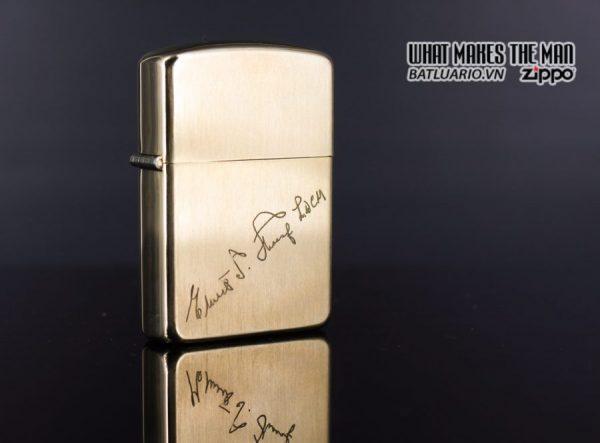 ZIPPO XƯA 1960S – BỌC VÀNG 10K – 10K GOLD FILLED 7