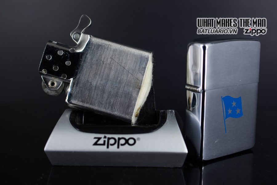 ZIPPO XƯA 1961 – ADMIRAL COMMANDER U.S. NAVY SIXTH FLEET PRESATION 2