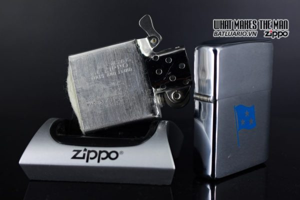 ZIPPO XƯA 1961 – ADMIRAL COMMANDER U.S. NAVY SIXTH FLEET PRESATION 3