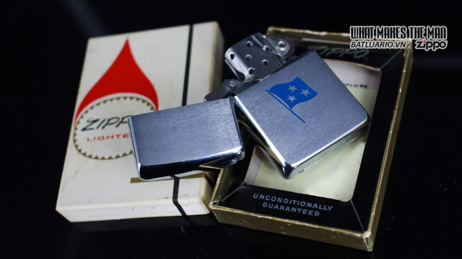 ZIPPO XƯA 1961 – ADMIRAL COMMANDER U.S. NAVY SIXTH FLEET PRESATION 8
