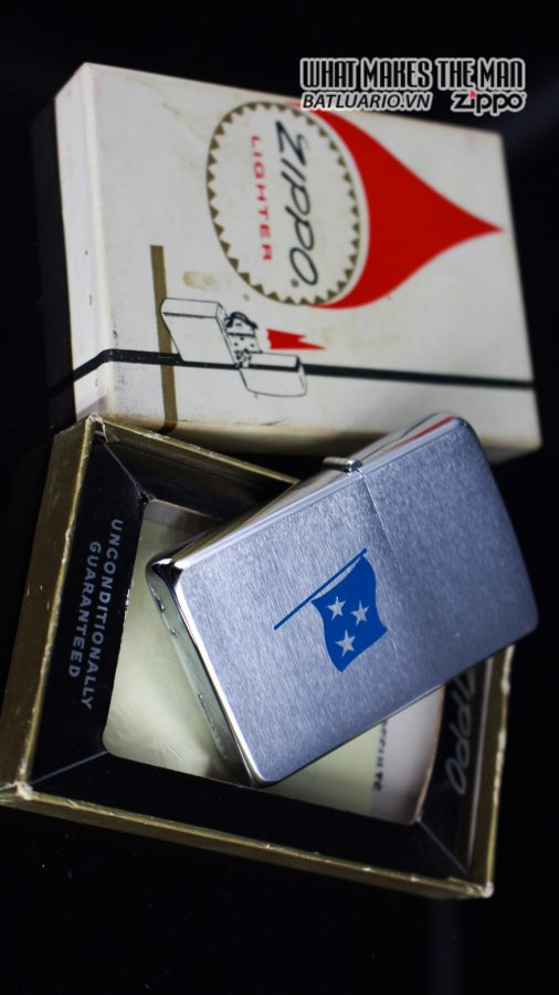 ZIPPO XƯA 1961 – ADMIRAL COMMANDER U.S. NAVY SIXTH FLEET PRESATION 9