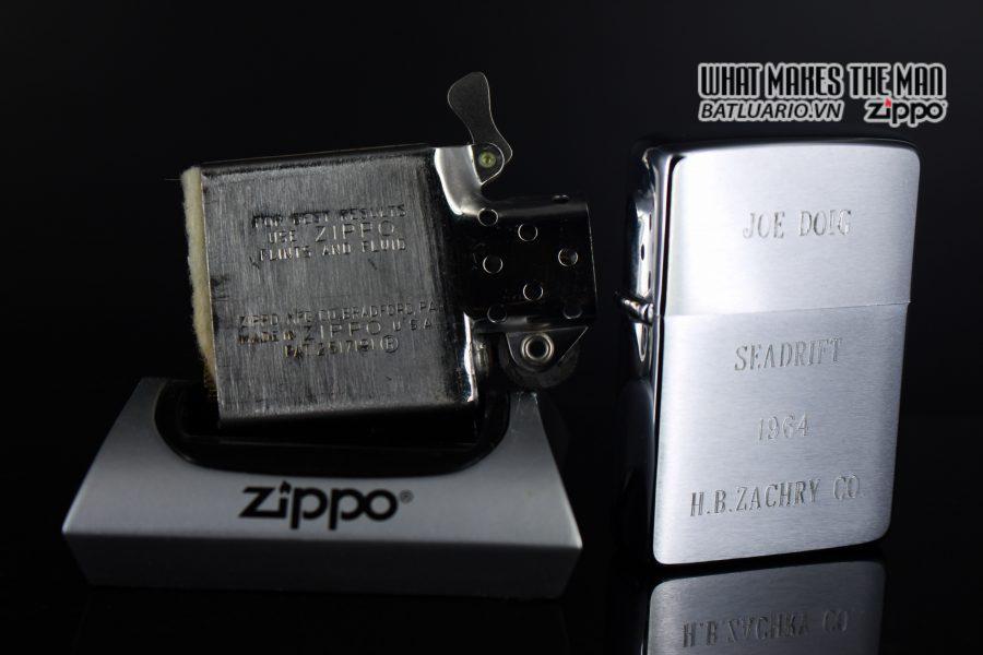 ZIPPO XƯA 1963 – JOE DOIG SEADRIFT 3