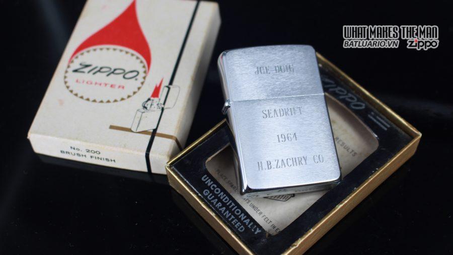 ZIPPO XƯA 1963 – JOE DOIG SEADRIFT 9