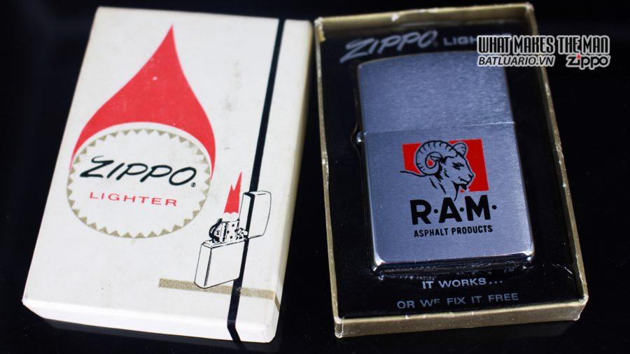ZIPPO XƯA 1969 - RAM ASPHALT PRODUCTS 1