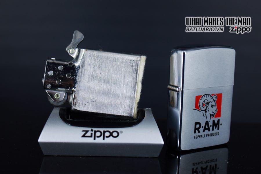ZIPPO XƯA 1969 - RAM ASPHALT PRODUCTS 2