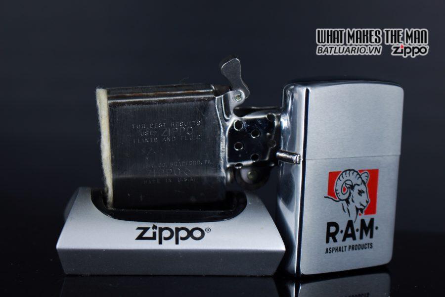 ZIPPO XƯA 1969 - RAM ASPHALT PRODUCTS 3