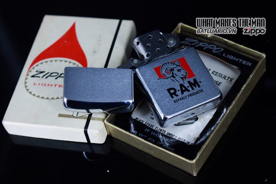 ZIPPO XƯA 1969 - RAM ASPHALT PRODUCTS 9