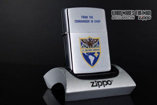 ZIPPO XƯA 1970 – U.S. SOUTHERN COMMAND PRESENTATION