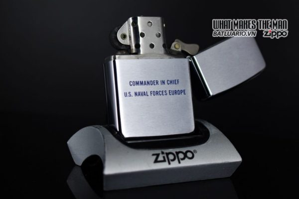 ZIPPO XƯA 1971 – ADMIRAL-COMMANDER IN CHIEF U.S. NAVAL FORCES EUROPE 4