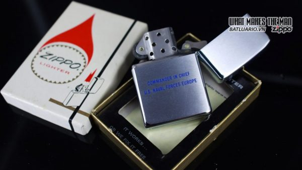 ZIPPO XƯA 1971 – ADMIRAL-COMMANDER IN CHIEF U.S. NAVAL FORCES EUROPE 6