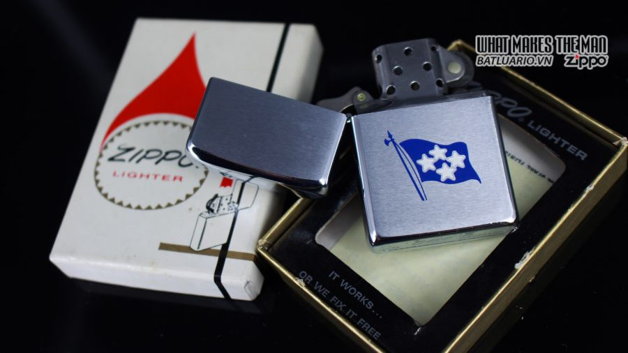 ZIPPO XƯA 1971 – ADMIRAL-COMMANDER IN CHIEF U.S. NAVAL FORCES EUROPE 7
