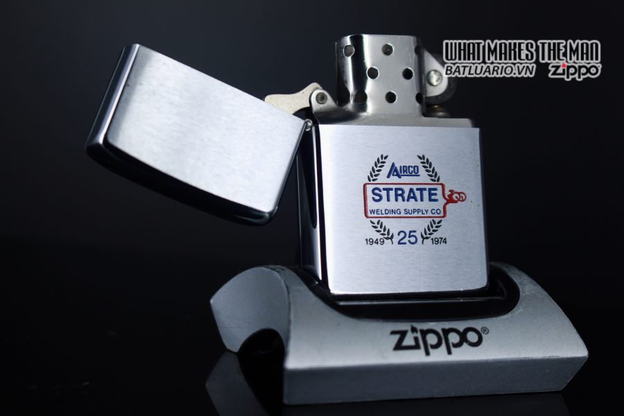 ZIPPO XƯA 1973 – 25TH STRATE WELDING SUPPLY CO 1