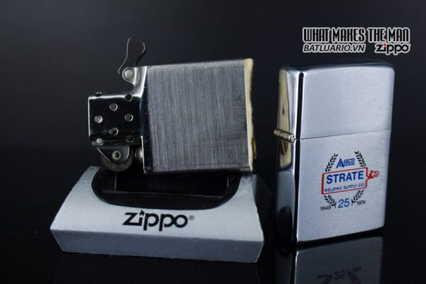 ZIPPO XƯA 1973 – 25TH STRATE WELDING SUPPLY CO 4