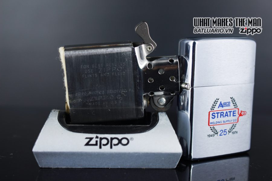 ZIPPO XƯA 1973 – 25TH STRATE WELDING SUPPLY CO 5