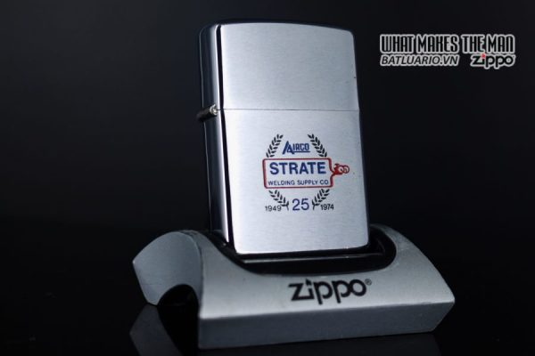 ZIPPO XƯA 1973 – 25TH STRATE WELDING SUPPLY CO