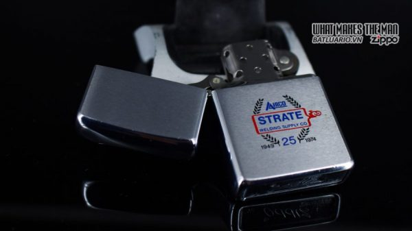 ZIPPO XƯA 1973 – 25TH STRATE WELDING SUPPLY CO 7