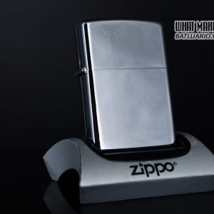 ZIPPO XƯA 1973 – PLAIN HIGH POLISHED – TRƠN 2 MẶT