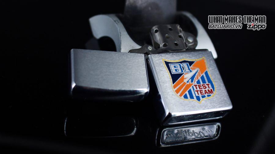 ZIPPO XƯA 1975 - B1 TEST TEAM 6