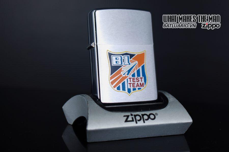 ZIPPO XƯA 1975 - B1 TEST TEAM