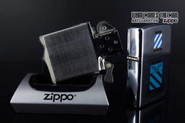 ZIPPO XƯA 1975 - MARNE DIVIDION 3D COMBAT AVIATION BN 2