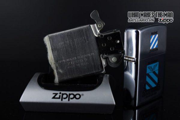 ZIPPO XƯA 1975 - MARNE DIVIDION 3D COMBAT AVIATION BN 3