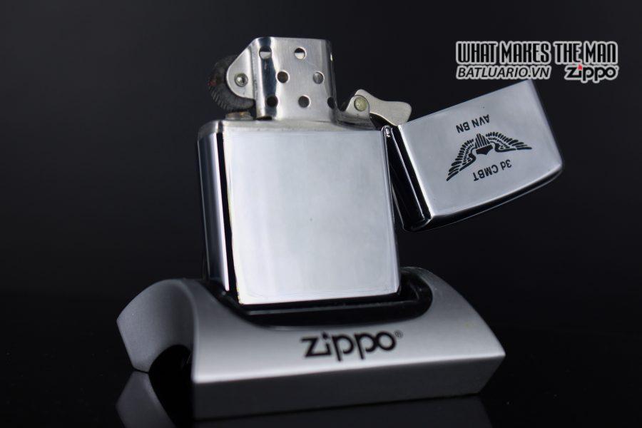 ZIPPO XƯA 1975 - MARNE DIVIDION 3D COMBAT AVIATION BN 5