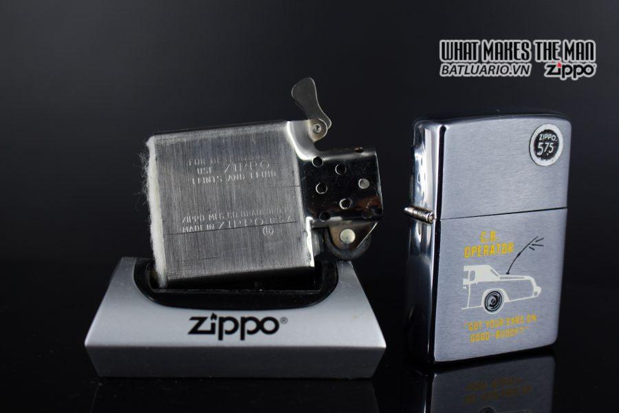ZIPPO XƯA 1976 – C.B OPERATOR 3