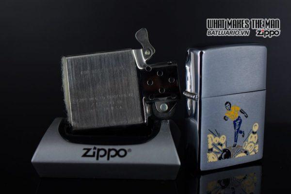 ZIPPO XƯA 1977 – SPORT SERIES – BOWLING 4