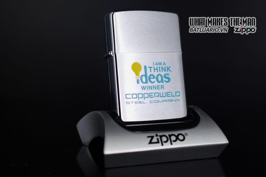 ZIPPO XƯA 1978 – I AM A THINK IDEAS