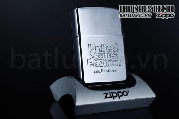 ZIPPO 1981 – UNITED STATES PAVILION – 1982 WORLD'S FAIR 3
