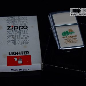 ZIPPO 1982 – IVORY ULTRALITES – LLOYD SCHOENHEIT TRUCKING 1