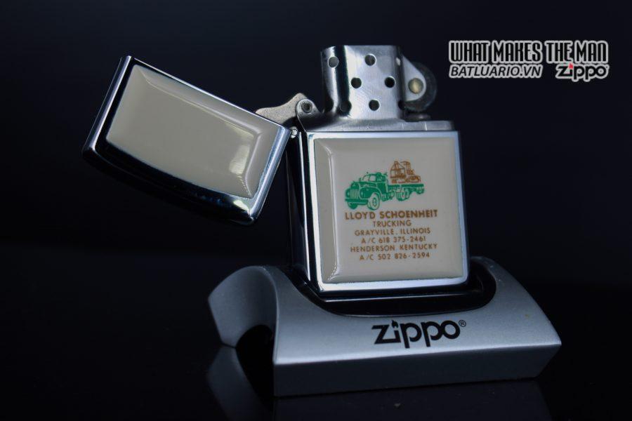 ZIPPO 1982 – IVORY ULTRALITES – LLOYD SCHOENHEIT TRUCKING 3