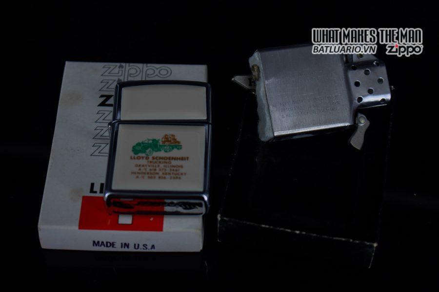 ZIPPO 1982 – IVORY ULTRALITES – LLOYD SCHOENHEIT TRUCKING 4