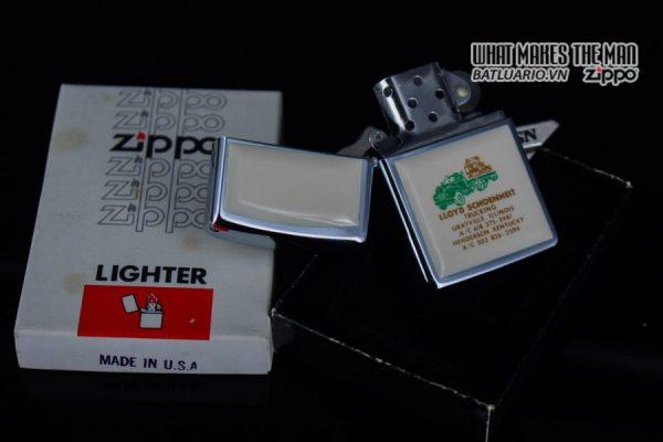 ZIPPO 1982 – IVORY ULTRALITES – LLOYD SCHOENHEIT TRUCKING 8